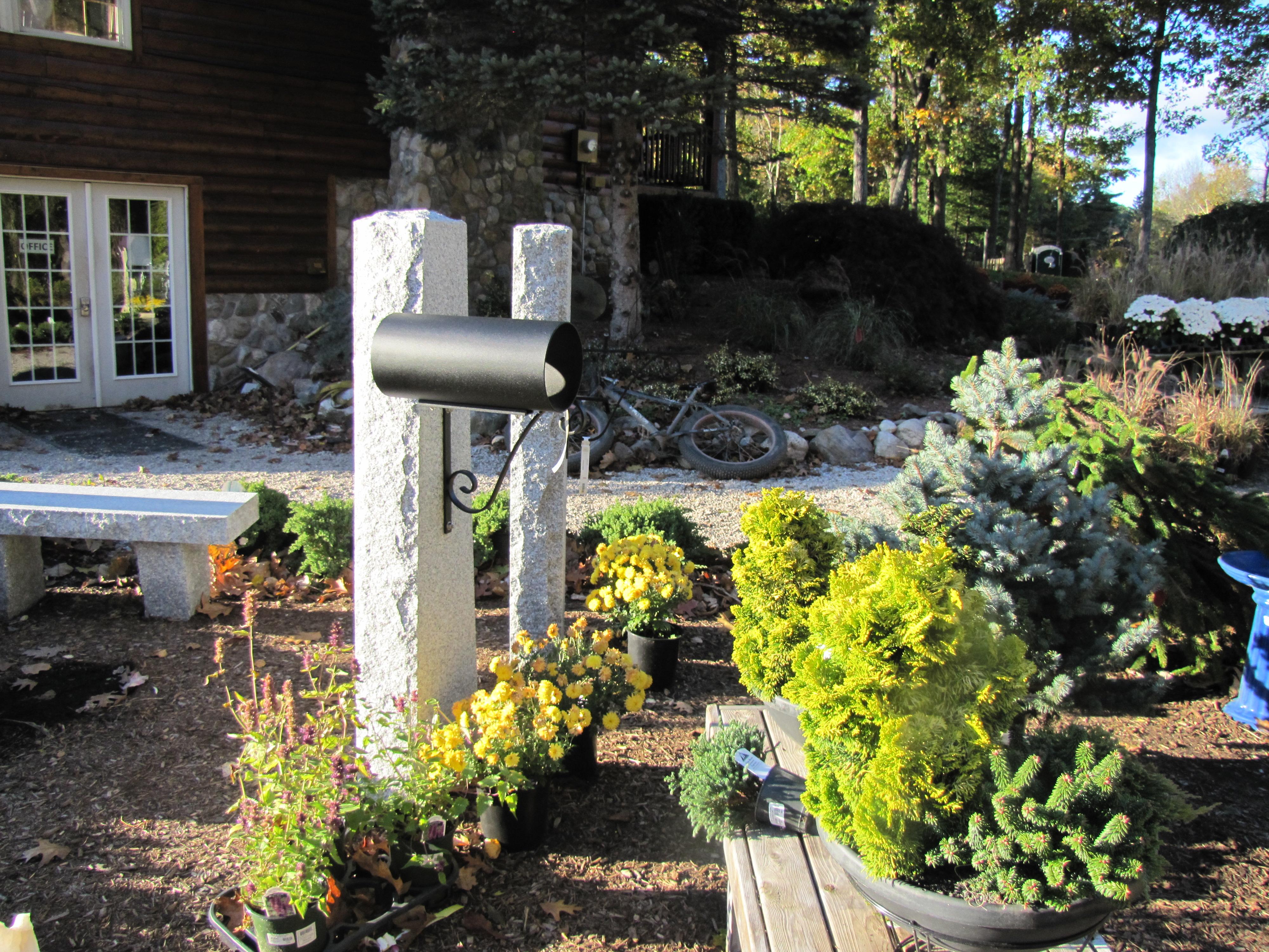 Granite Mailbox Posts
